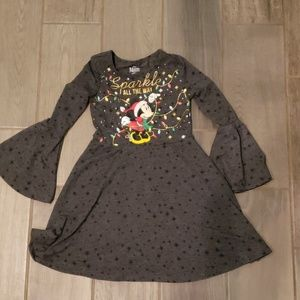 Disney mini mouse Christmas dress M